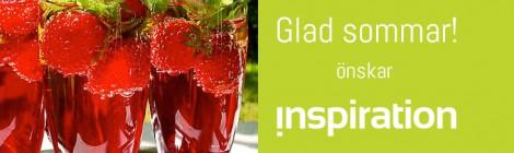 Glad sommar önskar vi på Inspiration!